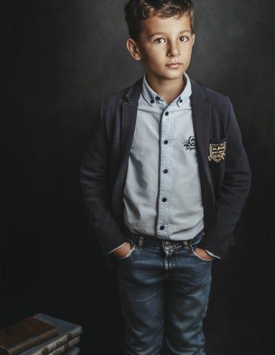fotografia chłopięca szkolna poznań